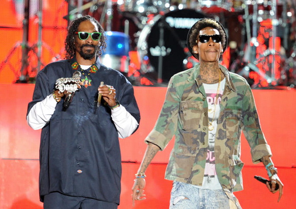 Snoop Dogg, Wiz Khalifa, Kevin Gates & Jhene Aiko at MidFlorida Credit Union Amphitheatre