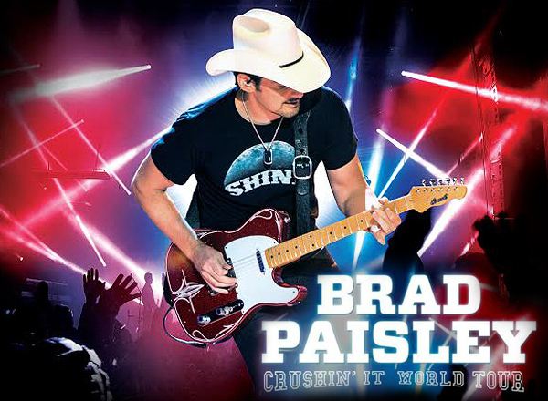 Brad Paisley, Tyler Farr & Maddie and Tae at MidFlorida Credit Union Amphitheatre