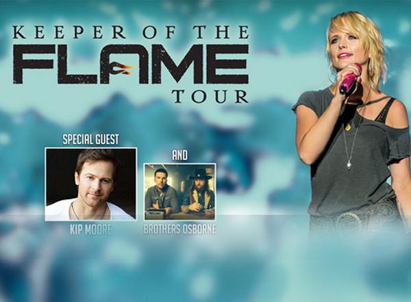 Miranda Lambert, Kip Moore & Brothers Osborne at MidFlorida Credit Union Amphitheatre