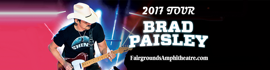 Brad Paisley, Dustin Lynch, Chase Bryant & Lindsay Ell at MidFlorida Credit Union Amphitheatre
