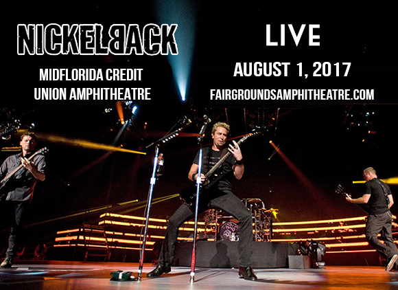 Nickelback & Daughtry at MidFlorida Credit Union Amphitheatre
