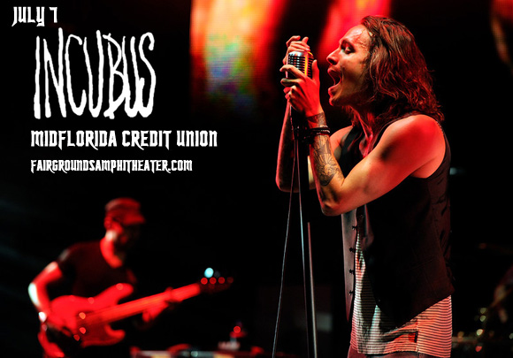 Incubus & Jimmy Eat World at MidFlorida Credit Union Amphitheatre