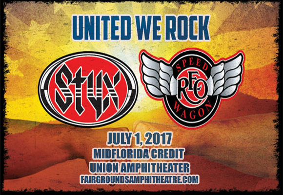 Styx, REO Speedwagon & Don Felder  at MidFlorida Credit Union Amphitheatre