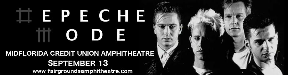 Depeche Mode at MidFlorida Credit Union Amphitheatre