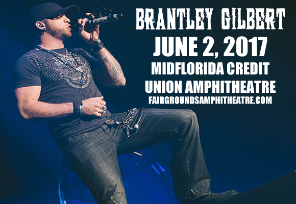 Brantley Gilbert, Tyler Farr & Luke Combs at MidFlorida Credit Union Amphitheatre