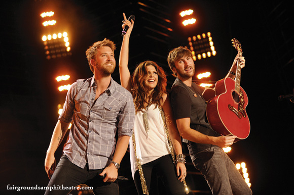 Lady Antebellum, Kelsea Ballerini & Brett Young at MidFlorida Credit Union Amphitheatre