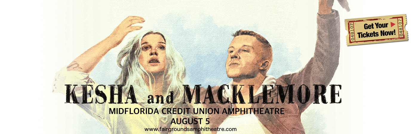 Kesha & Macklemore at MidFlorida Credit Union Amphitheatre