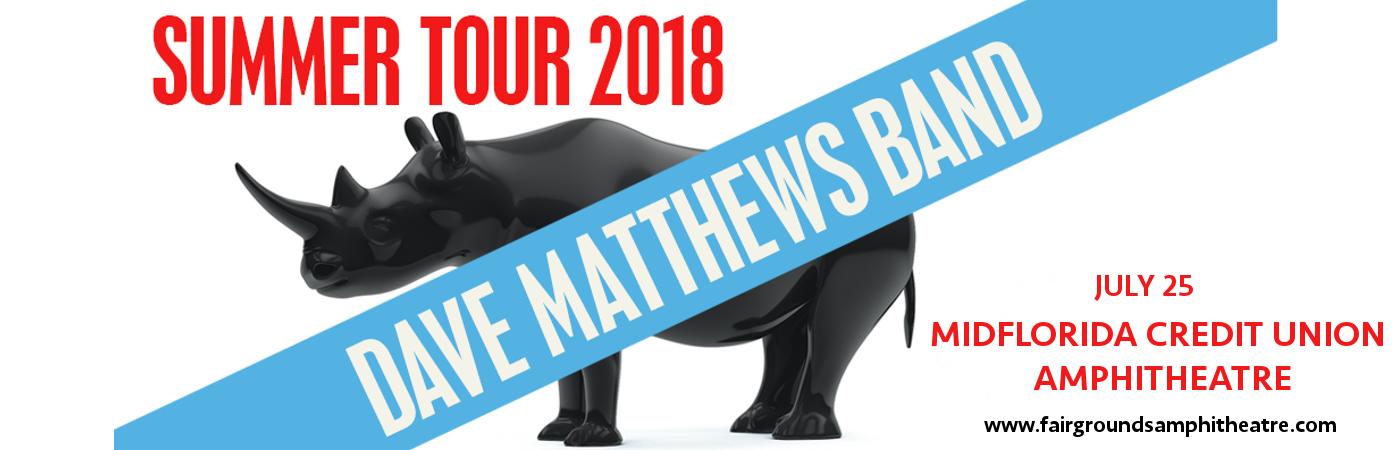 Dave Matthews Band at MidFlorida Credit Union Amphitheatre