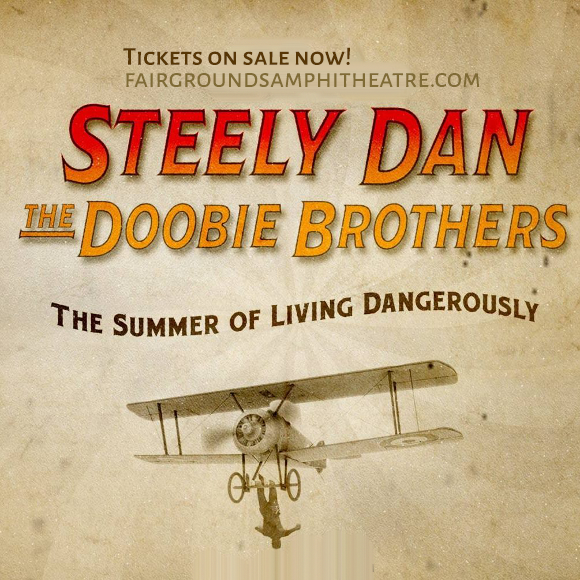 Steely Dan & The Doobie Brothers at MidFlorida Credit Union Amphitheatre