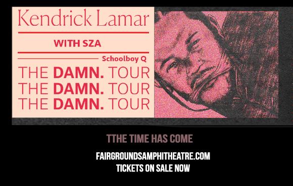 Kendrick Lamar, SZA & Schoolboy Q at MidFlorida Credit Union Amphitheatre