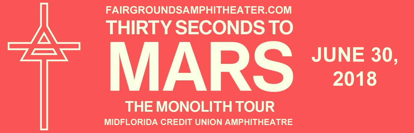 30 Seconds To Mars, Walk The Moon & MisterWives at MidFlorida Credit Union Amphitheatre