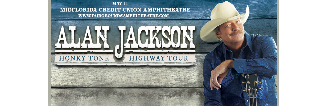 Alan Jackson at MidFlorida Credit Union Amphitheatre
