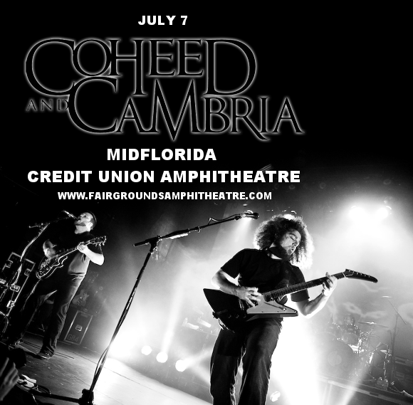 Coheed and Cambria & Taking Back Sunday at MidFlorida Credit Union Amphitheatre