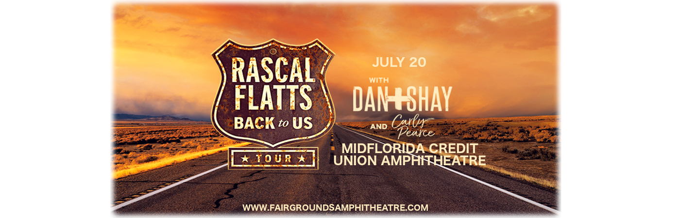 Rascal Flatts, Dan and Shay & Carly Pearce at MidFlorida Credit Union Amphitheatre