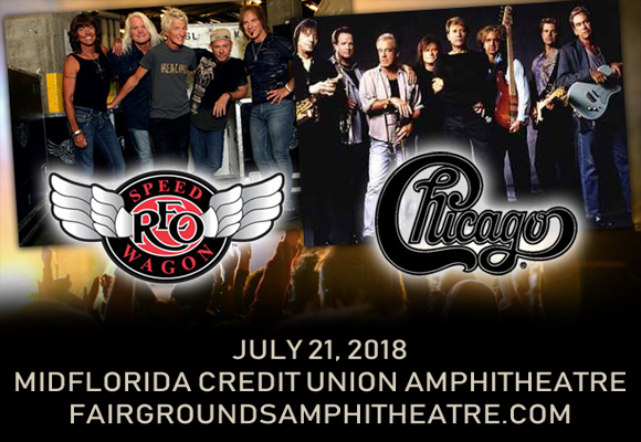 Chicago & REO Speedwagon at MidFlorida Credit Union Amphitheatre