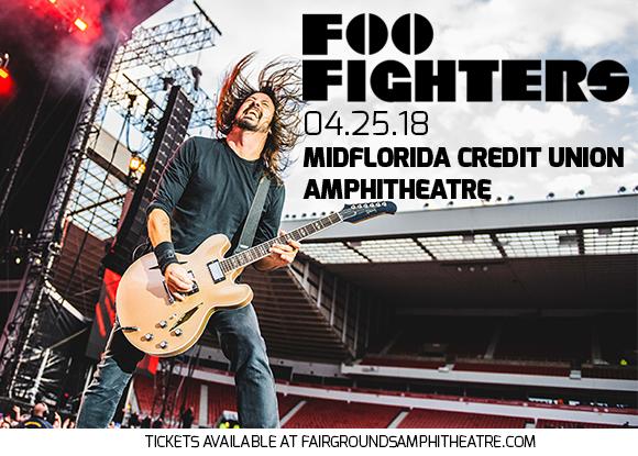 Foo Fighters at MidFlorida Credit Union Amphitheatre