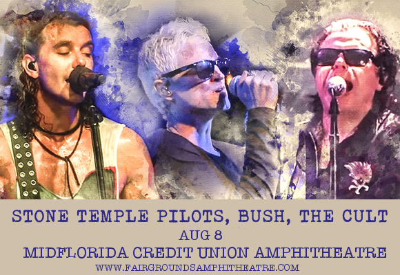 The Cult, Stone Temple Pilots & Bush at MidFlorida Credit Union Amphitheatre