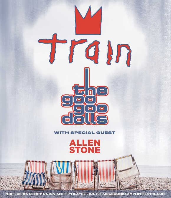 Train, Goo Goo Dolls & Allen Stone at MidFlorida Credit Union Amphitheatre