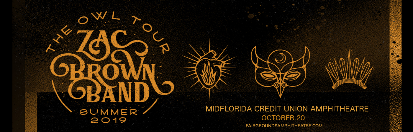 Zac Brown Band at MidFlorida Credit Union Amphitheatre