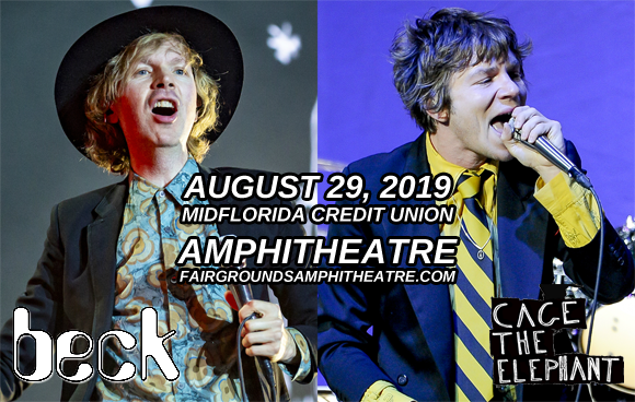 Beck & Cage The Elephant at MidFlorida Credit Union Amphitheatre