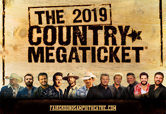 2019 Country Megaticket Tickets (Includes All Performances) at MidFlorida Credit Union Amphitheatre
