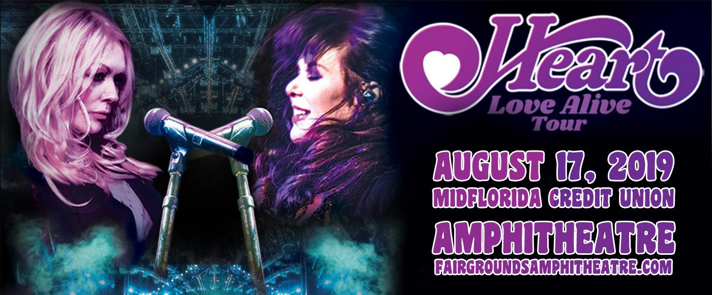 Heart, Joan Jett and the Blackhearts & Elle King at MidFlorida Credit Union Amphitheatre