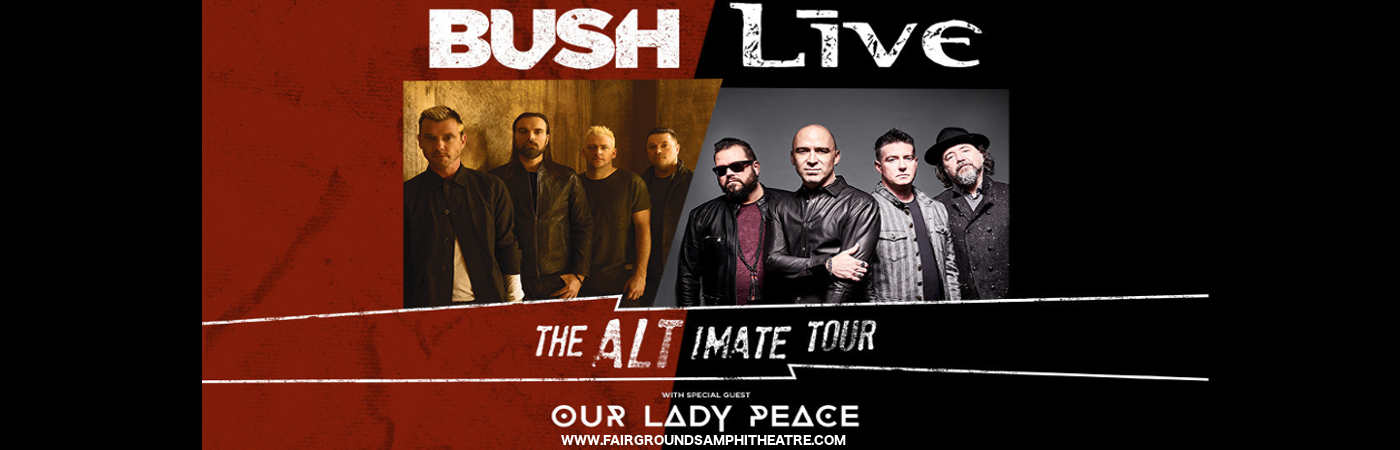 Live, Bush & Our Lady Peace at MidFlorida Credit Union Amphitheatre