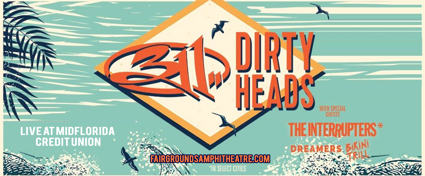 311 & The Dirty Heads at MidFlorida Credit Union Amphitheatre