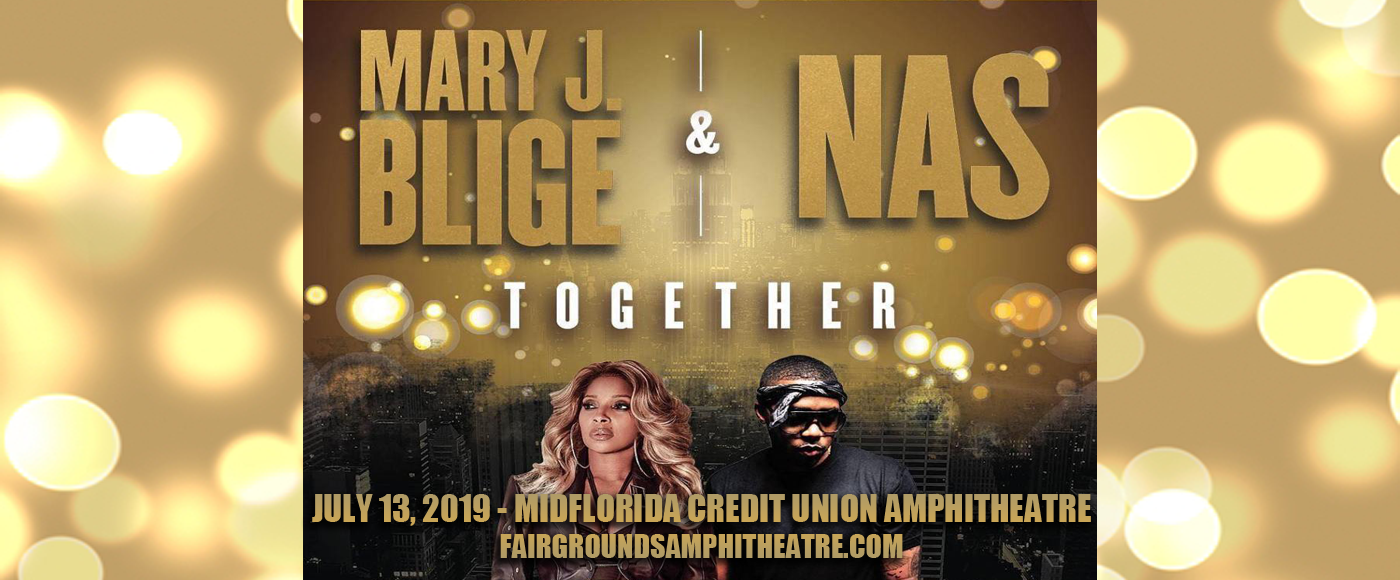 Mary J. Blige & Nas at MidFlorida Credit Union Amphitheatre