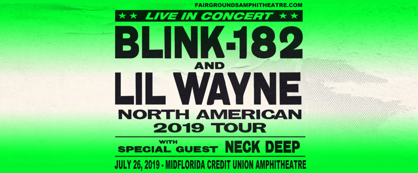 Blink 182 & Lil Wayne at MidFlorida Credit Union Amphitheatre