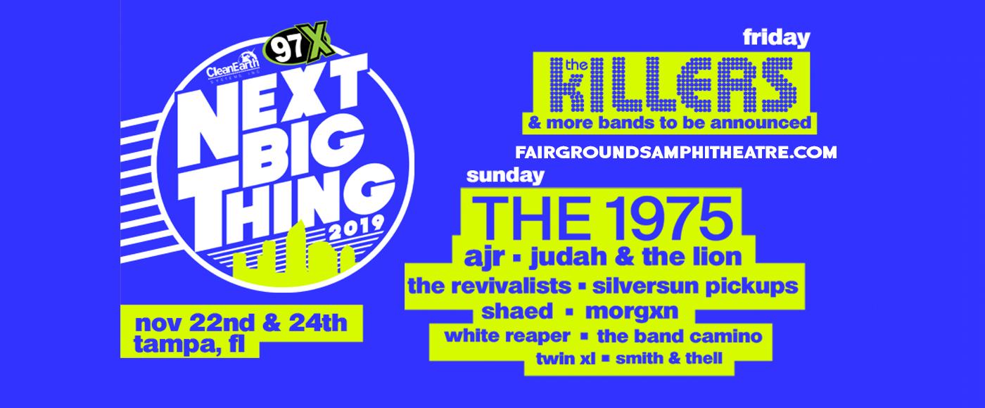 97X Next Big Thing: The Killers at MidFlorida Credit Union Amphitheatre