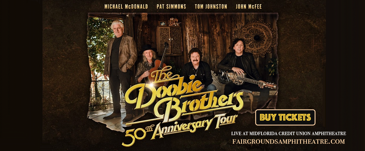 The Doobie Brothers & Michael McDonald at MidFlorida Credit Union Amphitheatre