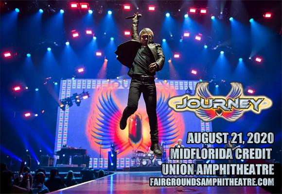 Journey & The Pretenders at MidFlorida Credit Union Amphitheatre