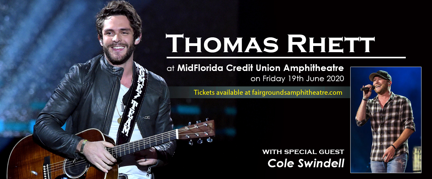 Thomas Rhett & Cole Swindell at MidFlorida Credit Union Amphitheatre