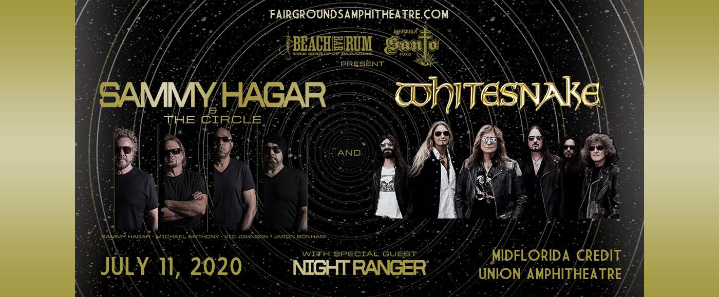 Sammy Hagar and the Circle & Whitesnake at MidFlorida Credit Union Amphitheatre