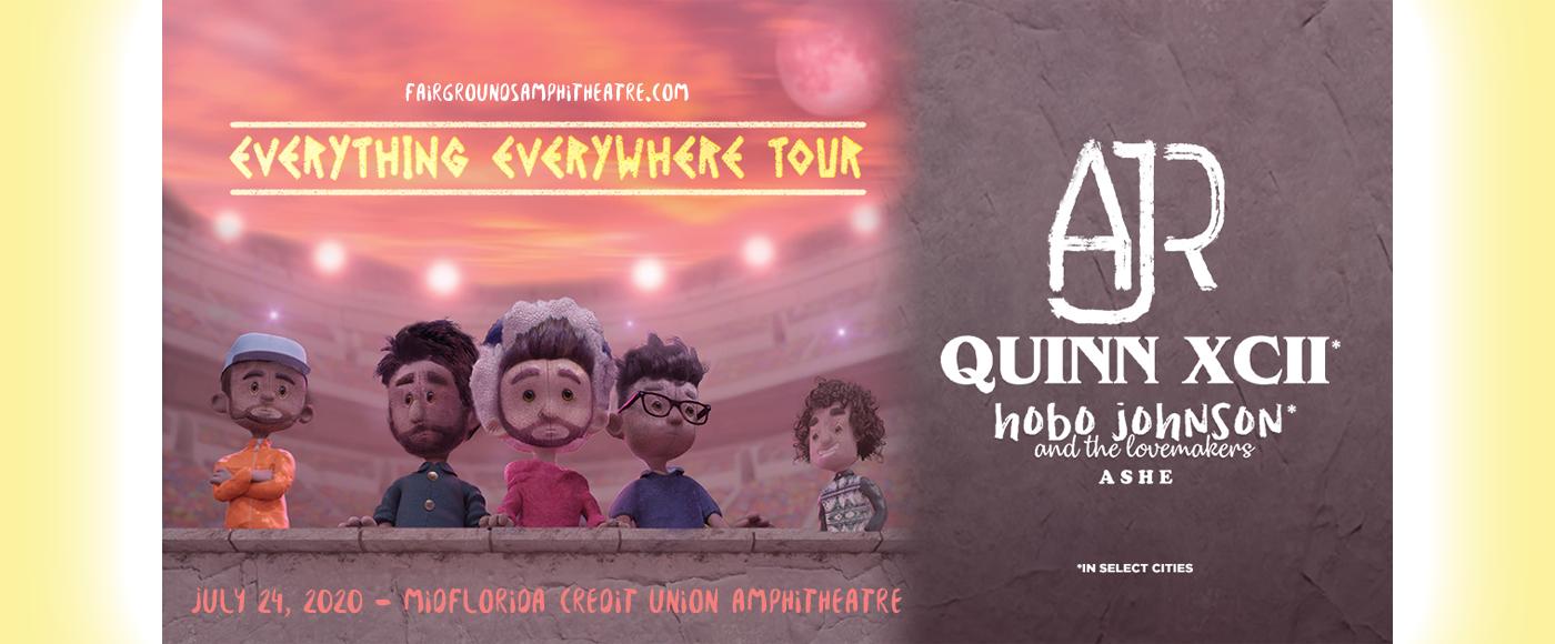 AJR, Quinn XCII & Hobo Johnson and The Lovemakers at MidFlorida Credit Union Amphitheatre
