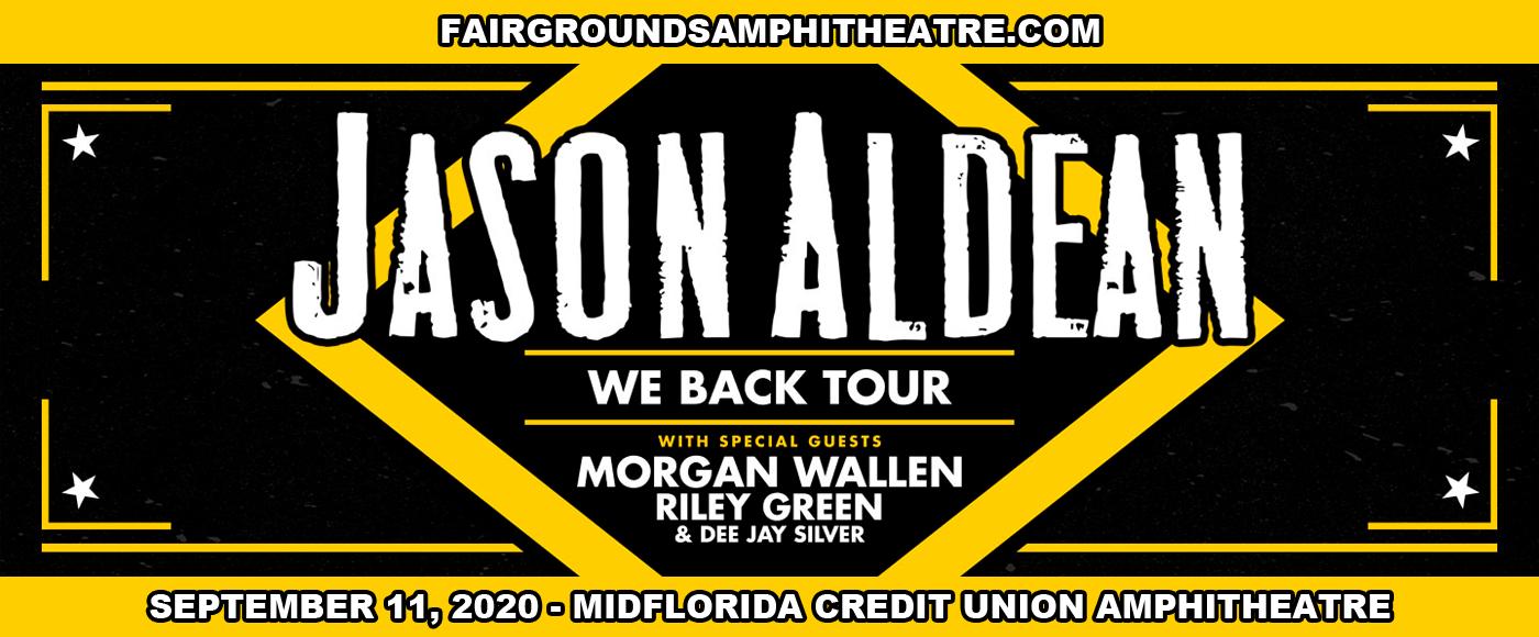 Jason Aldean, Brett Young, Mitchell Tenpenny & Dee Jay Silver at MidFlorida Credit Union Amphitheatre