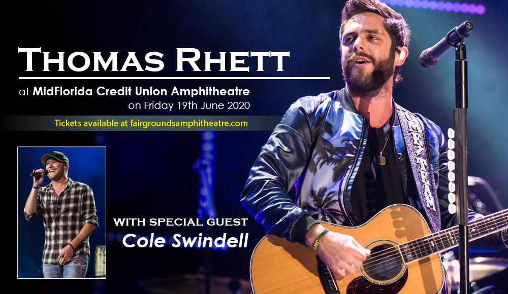 Thomas Rhett & Cole Swindell [POSTPONED] at MidFlorida Credit Union Amphitheatre