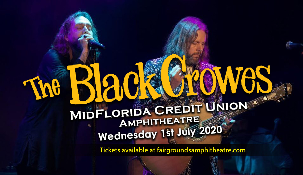 The Black Crowes [POSTPONED] at MidFlorida Credit Union Amphitheatre