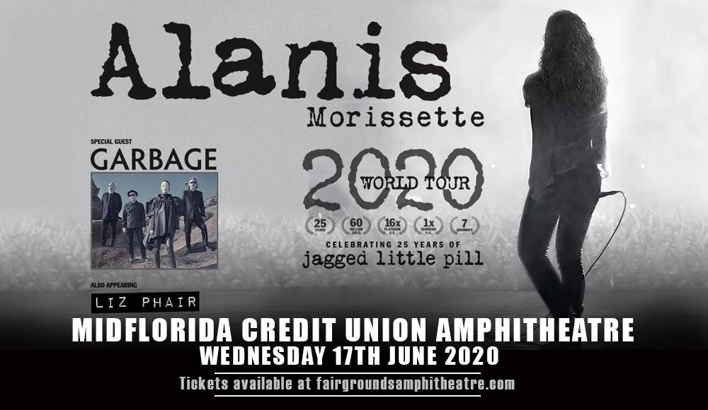 Alanis Morissette [POSTPONED] at MidFlorida Credit Union Amphitheatre