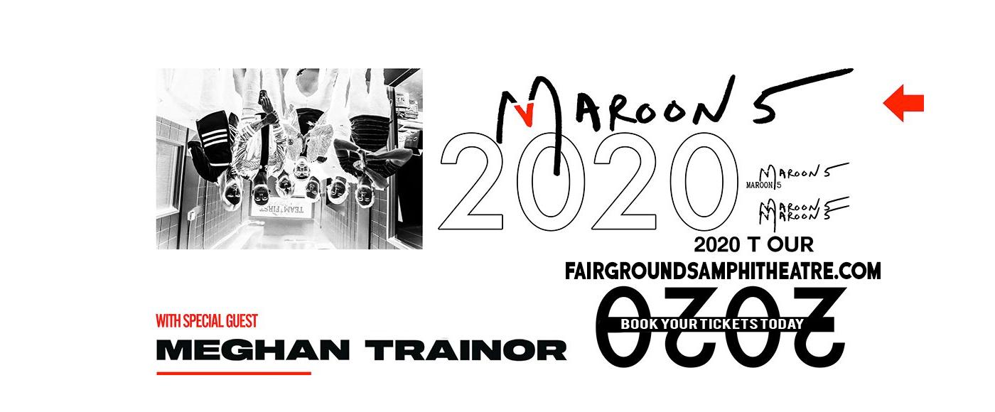 Maroon 5 & Meghan Trainor [POSTPONED] at MidFlorida Credit Union Amphitheatre