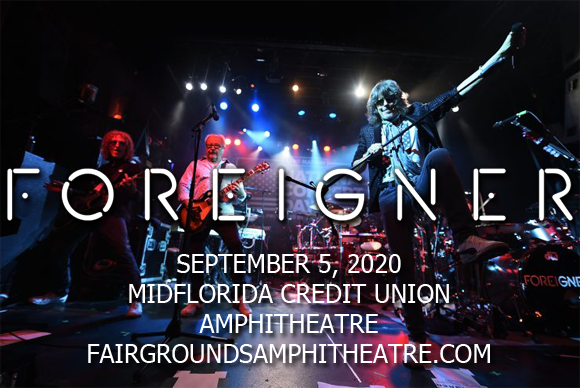Foreigner, Kansas & Europe [CANCELLED] at MidFlorida Credit Union Amphitheatre
