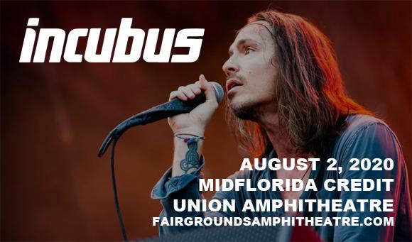 Incubus, 311 & Badflower [CANCELLED] at MidFlorida Credit Union Amphitheatre