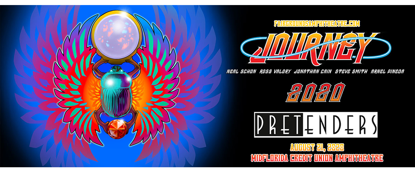 Journey & The Pretenders [CANCELLED] at MidFlorida Credit Union Amphitheatre
