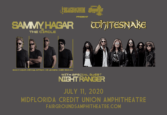 Sammy Hagar and the Circle & Whitesnake [CANCELLED] at MidFlorida Credit Union Amphitheatre