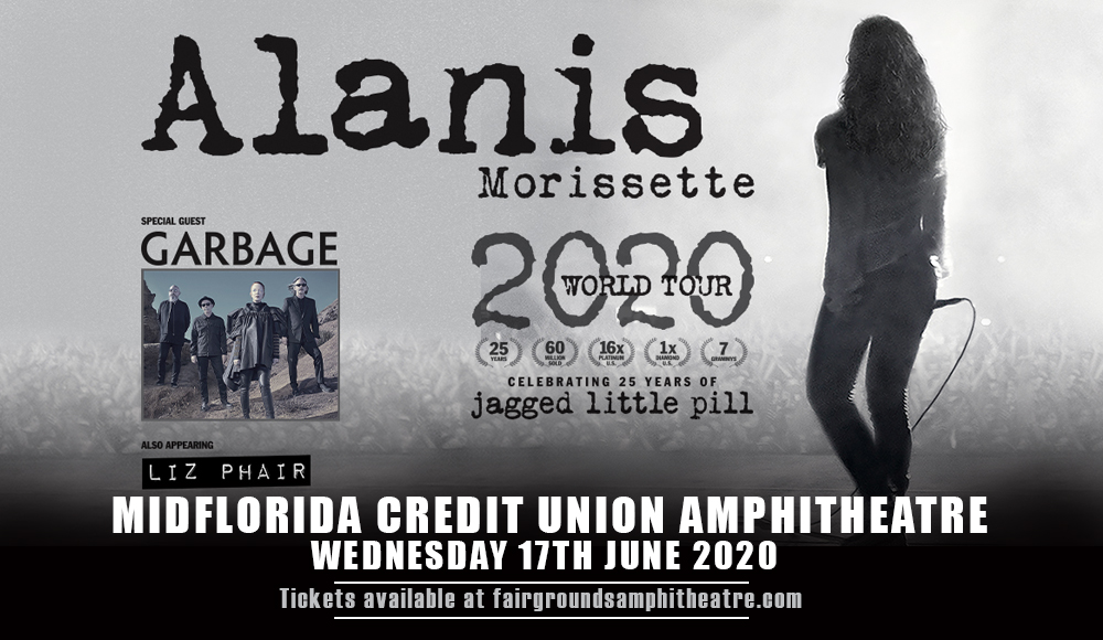 Alanis Morissette at MidFlorida Credit Union Amphitheatre
