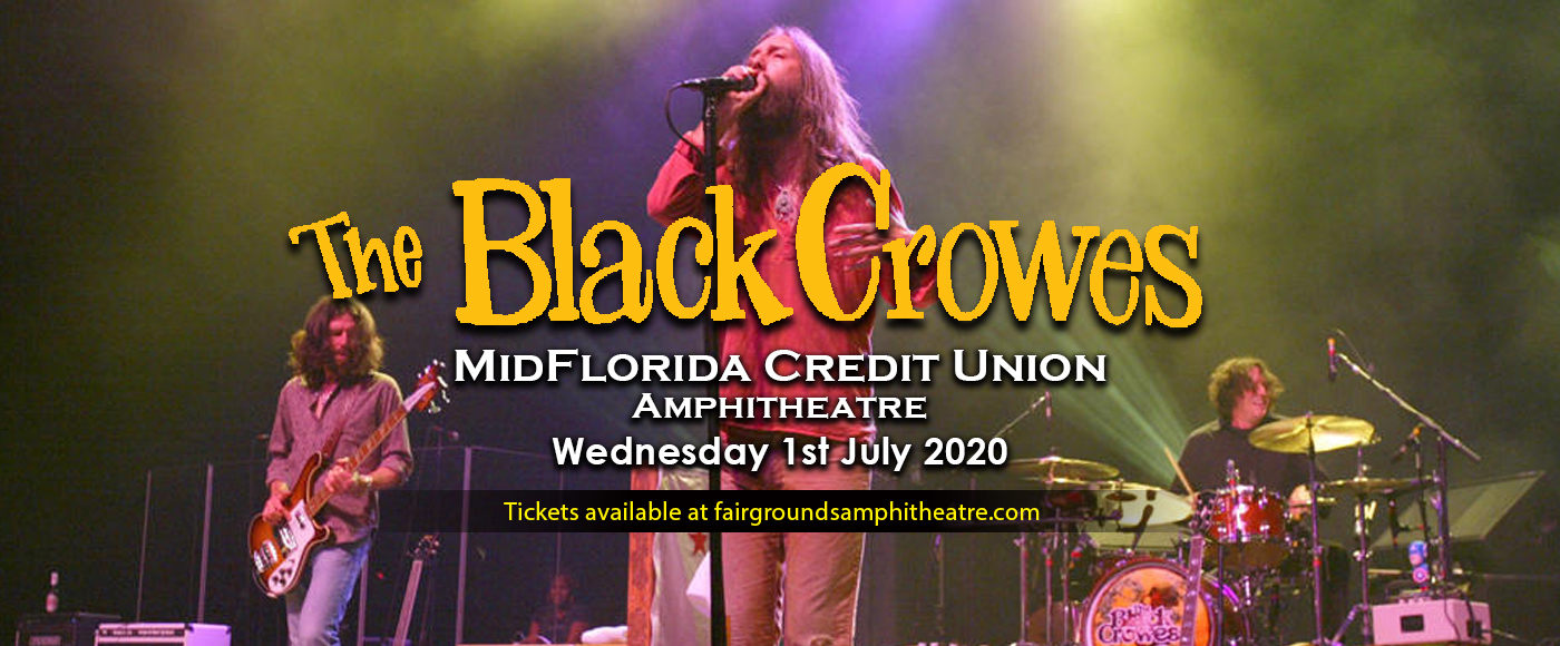 The Black Crowes at MidFlorida Credit Union Amphitheatre