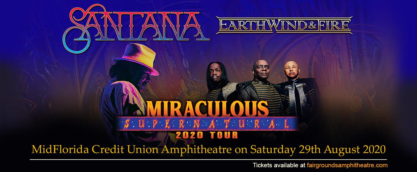 Santana & Earth, Wind and Fire at MidFlorida Credit Union Amphitheatre