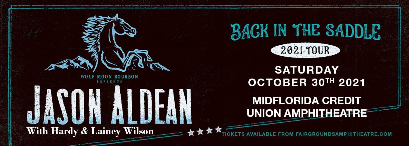 Jason Aldean: Back In The Saddle Tour at MidFlorida Credit Union Amphitheatre