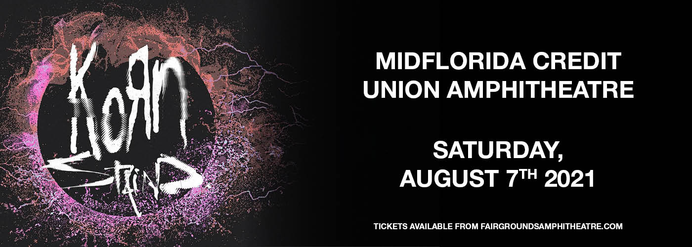 Korn & Staind at MidFlorida Credit Union Amphitheatre